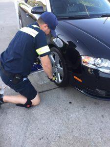 fixing a flat tire in woodbridge va